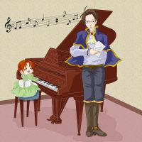 APH - On a Piano by MasterFranny