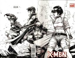 X-MEN by grandizer05