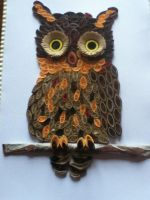 quilled owl by this-and-that-101