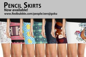 Pencil Skirts by ZeroJigoku