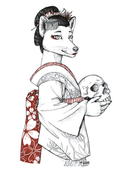 Deathly (but fine) Lady... by AnormalADN