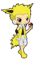 #135 jolteon by flyinfLa