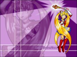 Super Sailor Moon Wallpaper by violetomega
