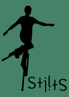 Circus Ambigrams 9: Stilts by Henry-Crun