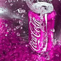 Coca Cola in the Pink by SaphoPhotographics