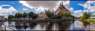 Orebro central sommar 2013 III by PaVet-Photography