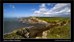 From St Alban's Headland by Andrew-and-Seven