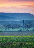 Quiet sunset near Shumen by f-f-w-d