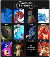 2015 Summary Art by LunaStar52