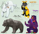 Monster Bears! [closed] by CunningFox