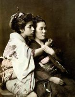 Vintage japanese ladies I by MementoMori-stock