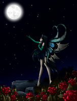 PC 3/3: Night Fairy by Bloom2