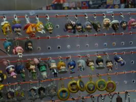 Anime Expo 2012: store stuff by bluupanda
