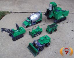 ROTF Constructicons G1 style by Unicron9