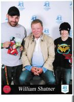 Picture with William Shatner by Kitamon