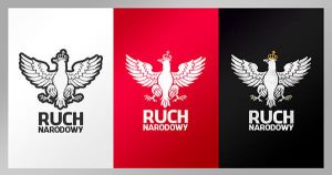 Ruch Narodowy - National Movement logo design by N4020