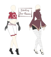 Ninja Outfit Adopts Batch 1 [Closed] by Chloes-Designs