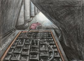 AP Art: Leaving Home Keys To Get To The Big C.D. by Alrathi