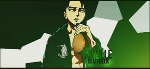 Rivaille Signature - 3 by DeathB00K