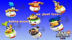 SSB4 koopaling wallpaper by BrandyKoopa