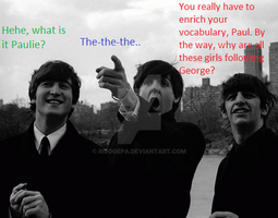 The Beatles Need to Run by Rijogepa