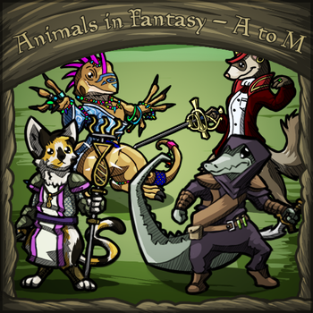 Animals in Fantasy - A to M (part 1) by Dsurion
