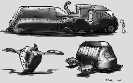 Carriage Truck by Shawnold