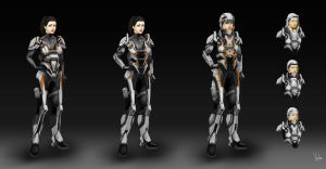 Suit concepts by Yip-Lee