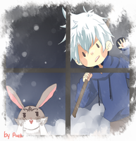Jack frost come to my house by DevilPink