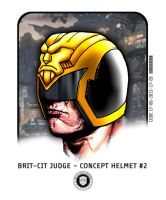 Brit-Cit Judge Helmet concept #2 by strangelysaucy