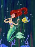 Little Mermaid- Dinglehopper by spicysteweddemon