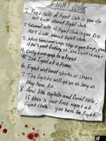 10 rules of fight club by ToothAndNail