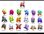 Kirby Colors by Ini-Inayah