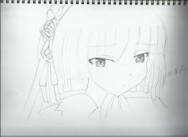 Fan-Art Drawing (Victorica-Gosick) by NNA12