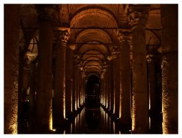 The Basilica Cistern by totemica