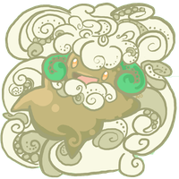 Whimsicott by AudGreen