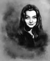 Morticia Addams by lady-oceansoul