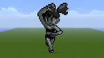 Pokemon Red/Blue Misty Minecraft Sprite by HaloFreak001