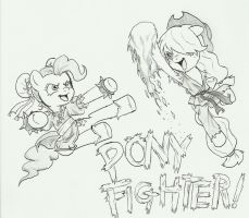 Pony Fighter!  Friendship is Alpha! by joelashimself
