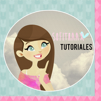 Cute color avatar for youtube PSD by SofithaaxTutoriales