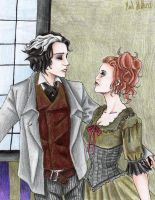 sweeney todd and mrs lovett 3 by Mad-Hatter---x