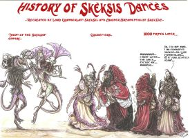 Skeksis Dance History  by smeagolisme