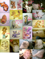Bidoofs and Henna and other stuff by Yo-Angie