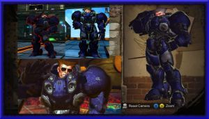 Guile Terran Space Marine Blue Download by MaesterLee