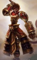 dra'wukong League of Draven! by armice