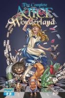 Alice in Wonderland 2 Cover by pcsiqueira