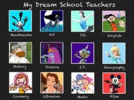 My Own Dream Teachers by rabbidlover01