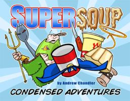 SuperSoup book cover by andrewchandler80