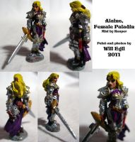 Alanie - Female Paladin by SurfTiki
