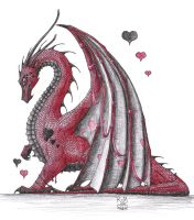Valentines Dragon by Scellanis
